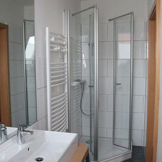 Bad mit Dusche Haupthaus