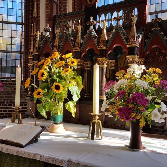 Altar-Blumen