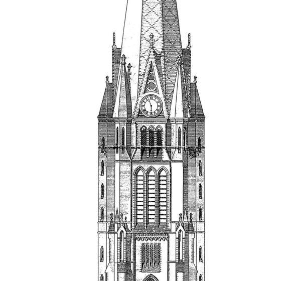 Bauzeichnung-Turm