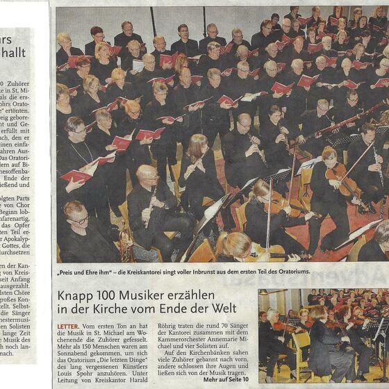 Leine-Zeitung Seelze 23.11.2015