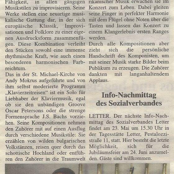 Umschau Seelze 17.05.2017