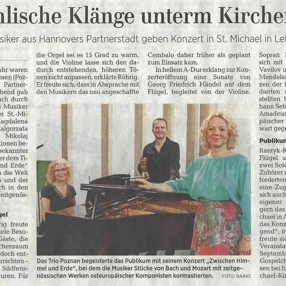 Leine-Zeitung Seelze 07.08.2018