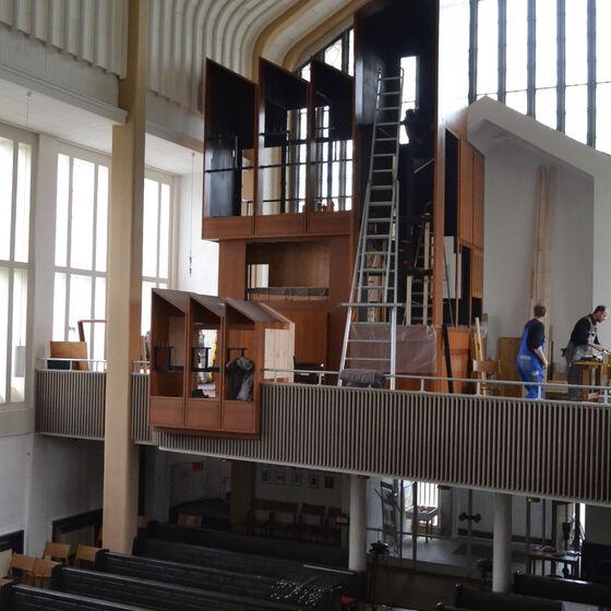 Aufbau des Pedalgehäuses (5. Mai 2014)