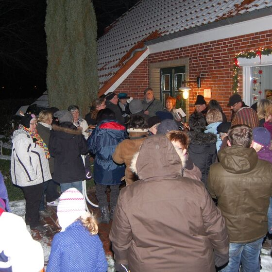 Lebendiger Advent in Bingum