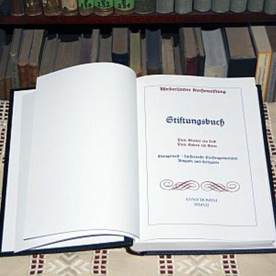 Stiftungsbuch Bingum