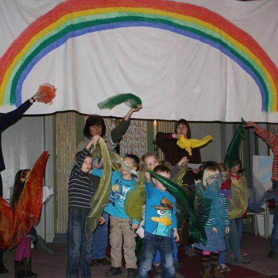 Kita Arche Noah Regenbogen webo