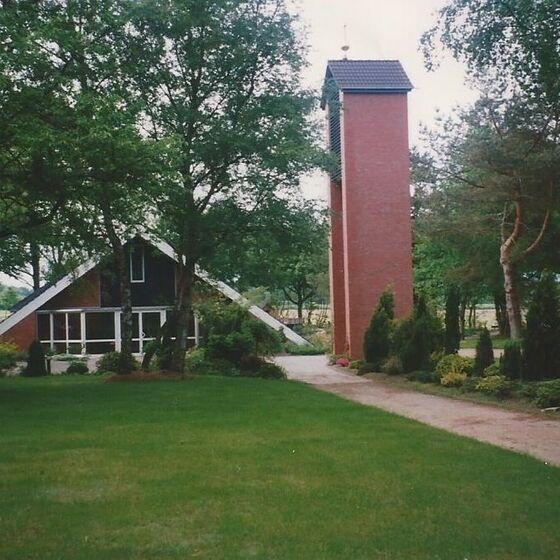 Kirche nach Unbau