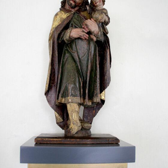 Statue Hlg. Christophorus