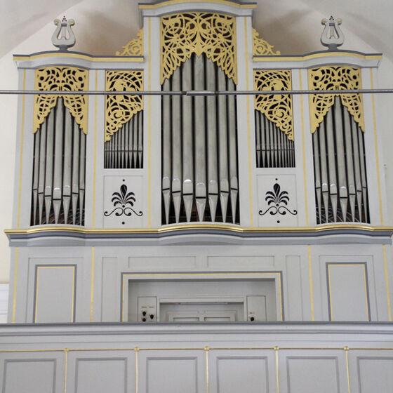 Aktuelle Orgel