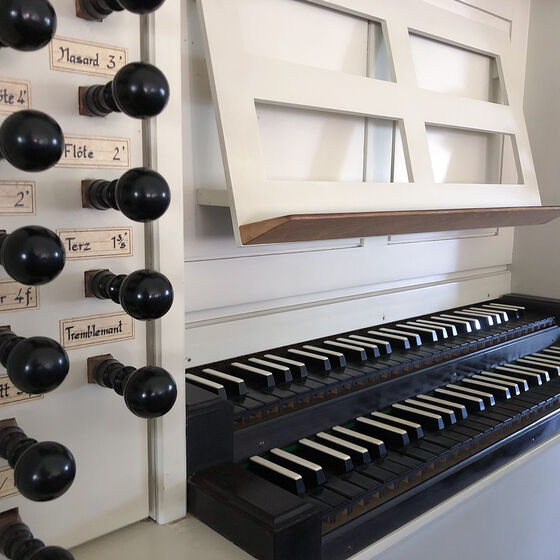 Orgel in der Kirche Eschede
