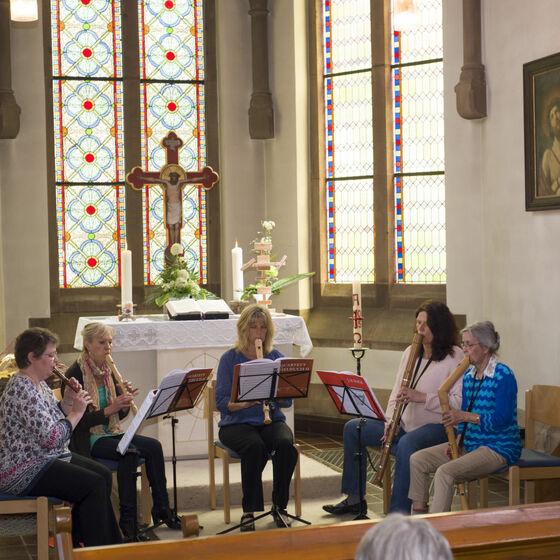 Flötengruppe Stiftungsfest 2015