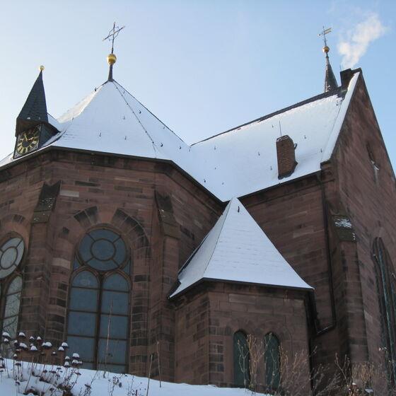 St. Petri Kirche Winter