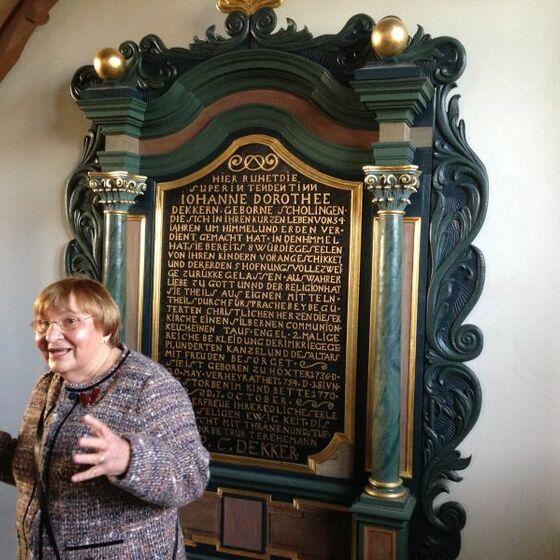 Kirchenführung Frau Görsmann