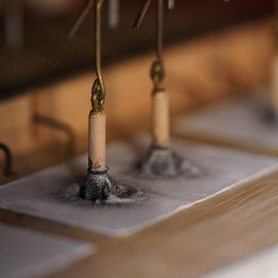 Lederpulpeten für Ventilzug