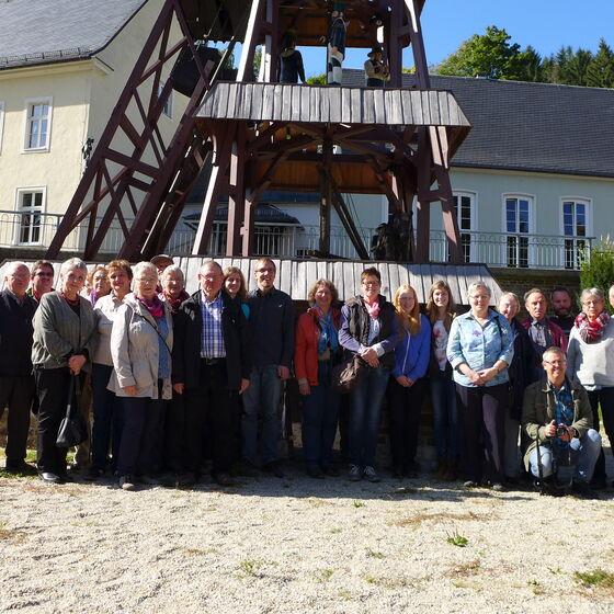 Zu Besuch in Pobershau am 03. Oktober 2015