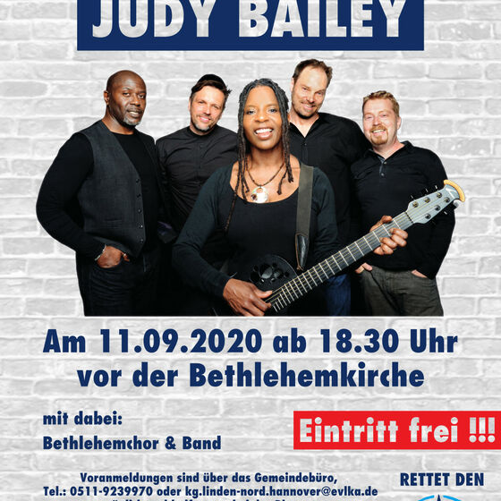 Open Air Konzert: Judy Bayley