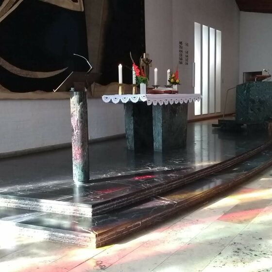 Paulus-Altarraum