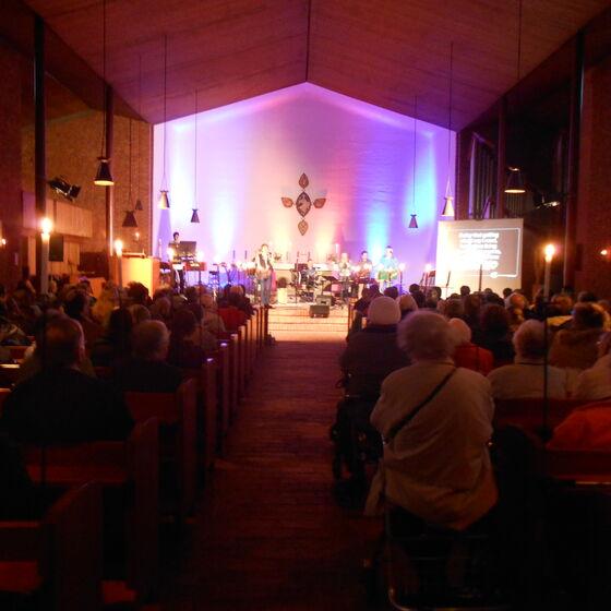 Stimmungsvolle Kirche