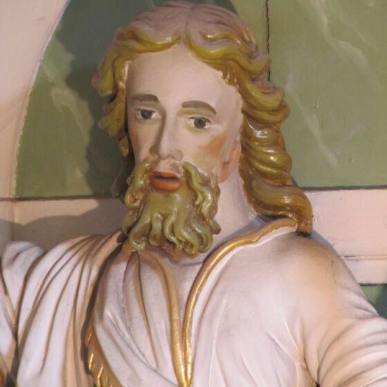 Altar Kopf Johannes