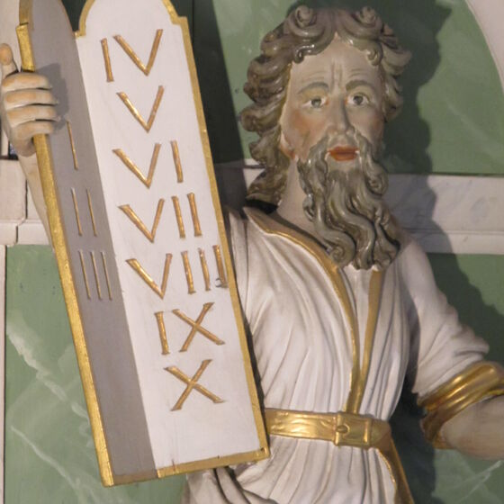 Altar Kopf Mose