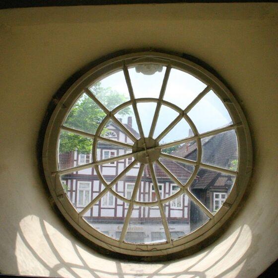 Kirche Rundfenster