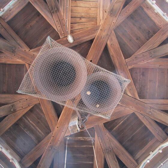 Glockenturm mit Glocken