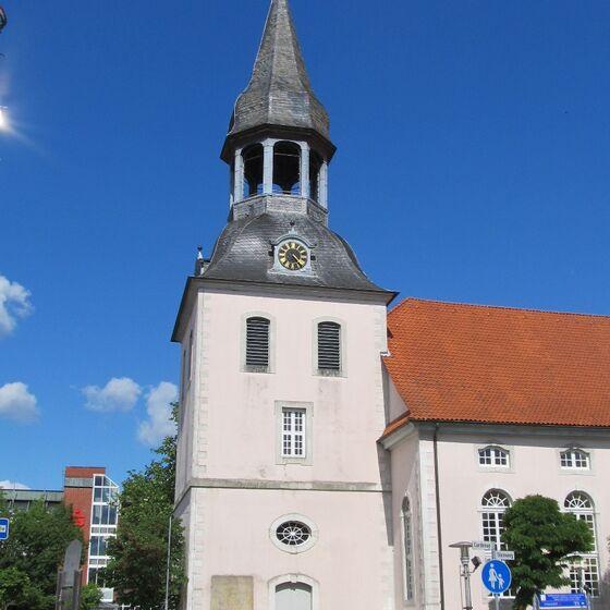 Kirchturm von Westen