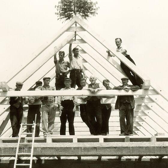 1964 Leichenhalle Eigenleistung 3