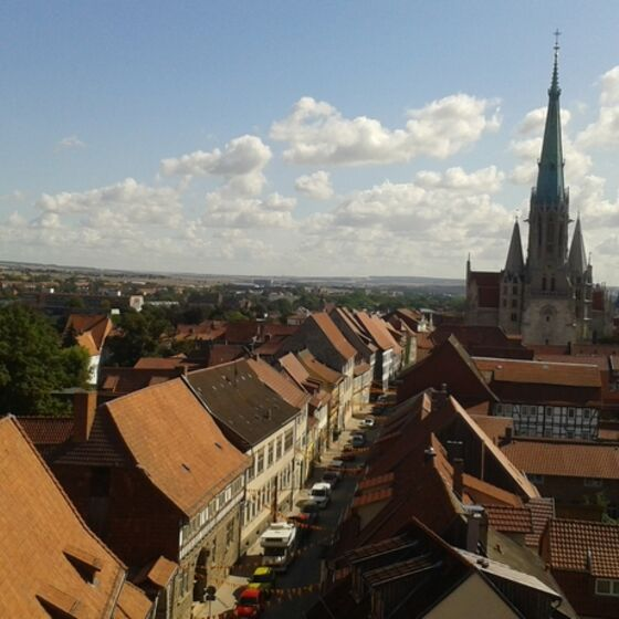 Mühlhausen vom Stadtturm