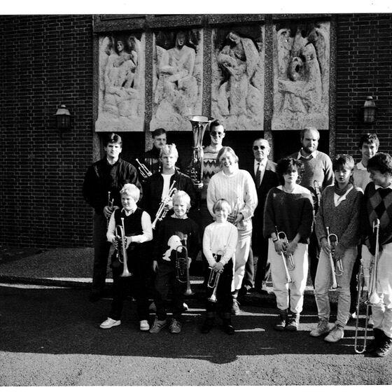unser Posaunenchor 1985