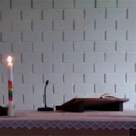 Weihnachtlicher Altar