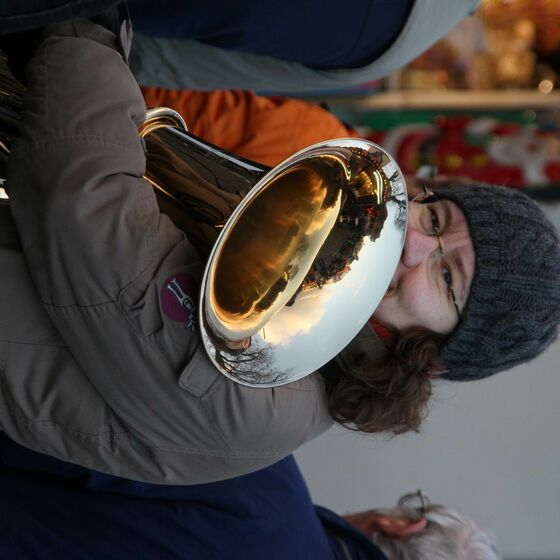 23 Posaunenchor Weihnachtsmarkt 2013