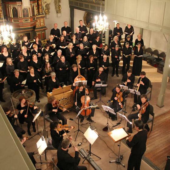 Ganz zum Schluß gegen 20:30 Uhr als Zugabe nochmals den dritten Teil aus Buxtehudes Kantate zum Osterfest.