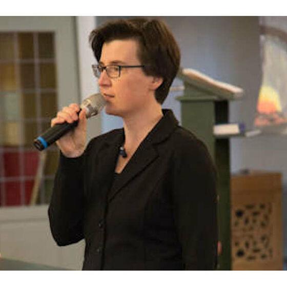 Kirchenkreiskantorin Caroline Schneider-Kuhn