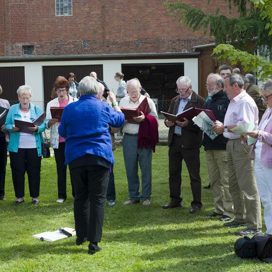 Singen mit dem Chor