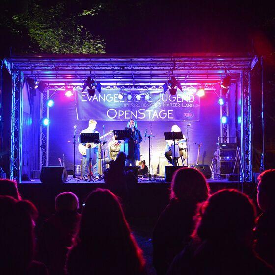 Musiker der evangelischen Jugend