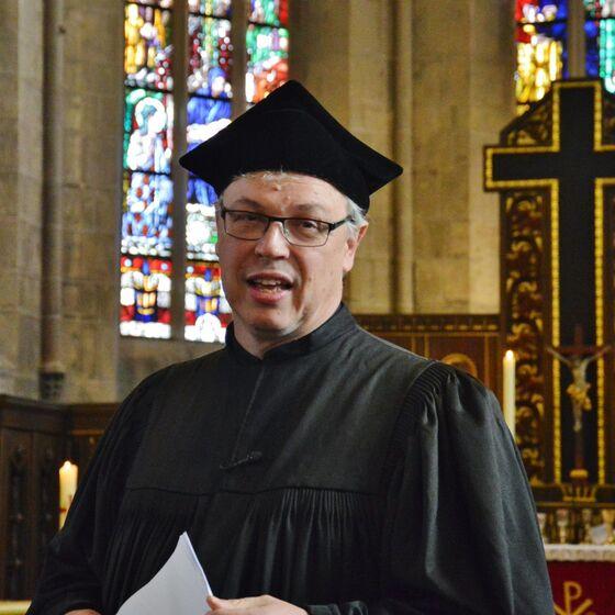 Pastor Edelmann spielte Martin Luther
