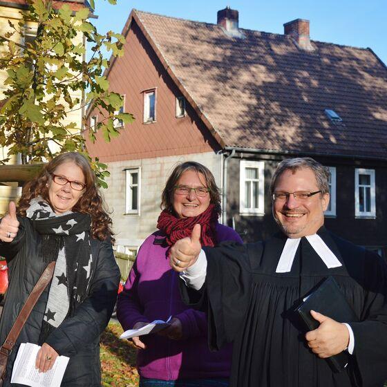 Zellerfeld - Pastor André Dittmann hatte gewettet