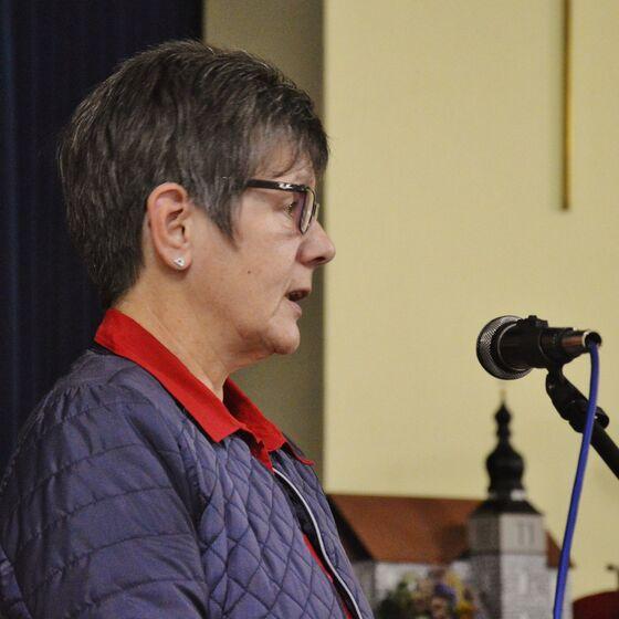 Ingrid Baum leitete die letzte Sitzung in dieser Wahlperiode