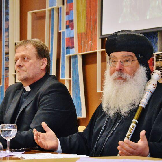 Pastor Horst Reinecke hatte Bischof Anba Damian eingeladen