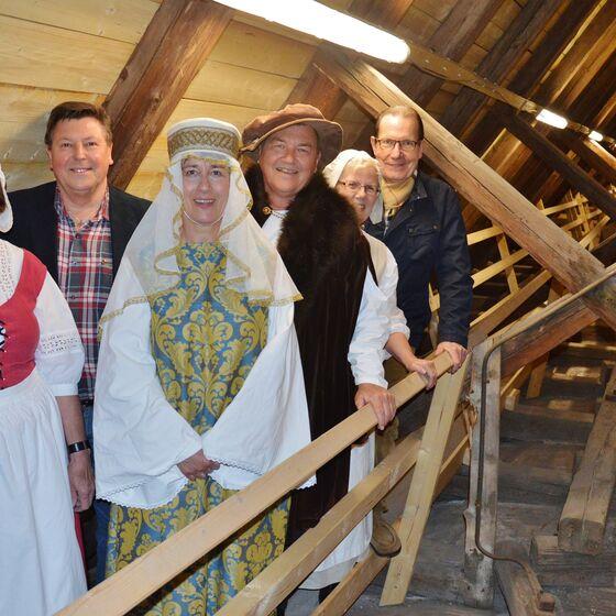 Gudrun Wegner, Wilfried Schröter, Sigrid Krippendorff, Michael Bohnert, Bärbel Roßmann und Wolfgang Wiedemann