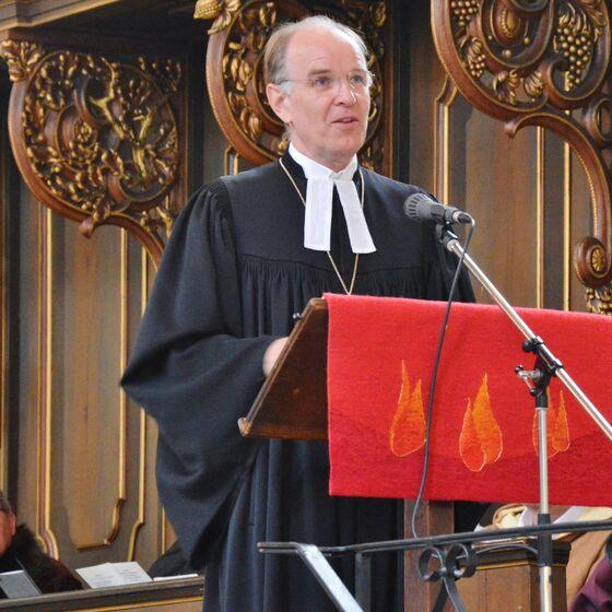 Landesbischof Ralf Meister hielt die Predigt