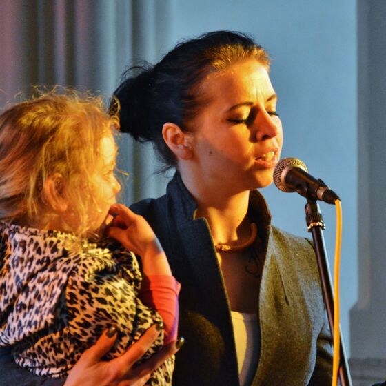 Als Tina Wahle sang, zog es auch ihre Tochter ins ampenlicht