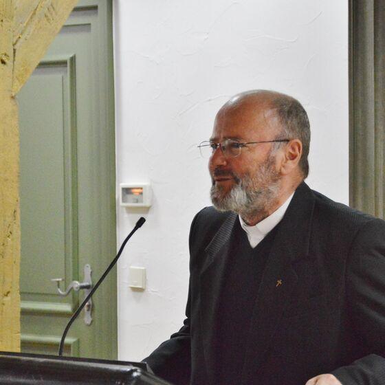 Pfarrer Gerhard Wagner berichtete aus Alba Julia