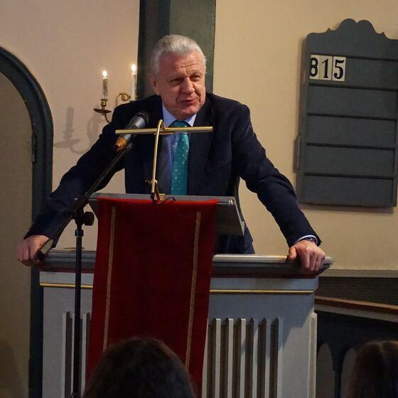 Der ehemalige niedersächsiche Landtagspräsident Jürgen Gansäuer.