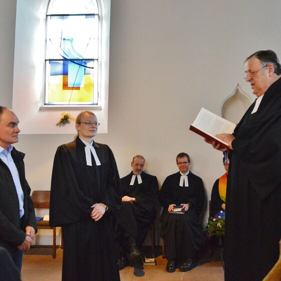 Die Mitglieder des Kirchenvorstandes freuen sich ebenso wie Pastor Engelmann auf die Zusammenarbeit