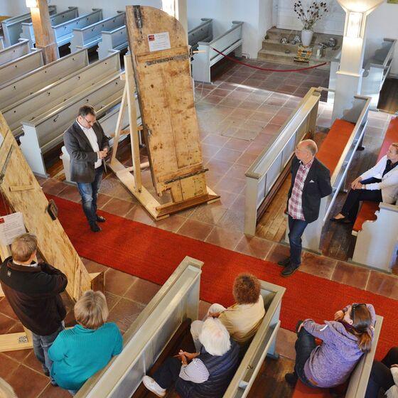 Noch bis zum 21. August stehen die Türen in Lautenthal, danach ziehen sie durch den Kirchenkreis