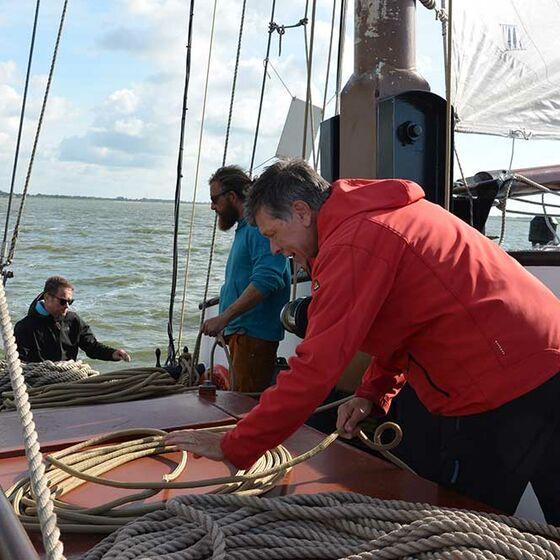 Die Seile werden aufgeräumt (Foto: Schwier)
