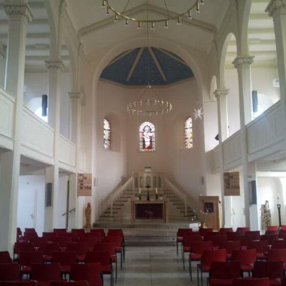 Kirche innen Bodenfelde