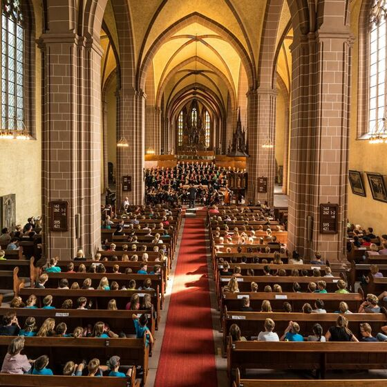 Münsterkirche St Alexandri innen